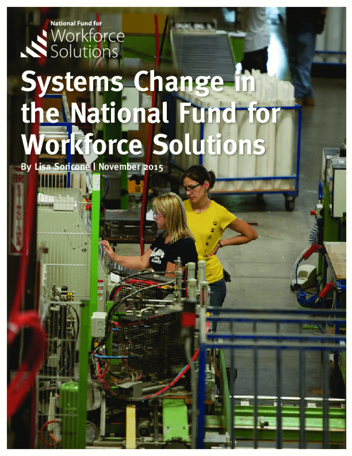 Systems Change in the National Fund for Workforce Solutions