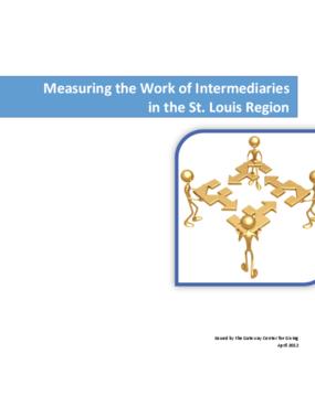 Measuring the Work of Intermediaries in the St. Louis Region