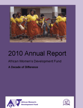 Annual Report 2010 A Decade of Difference