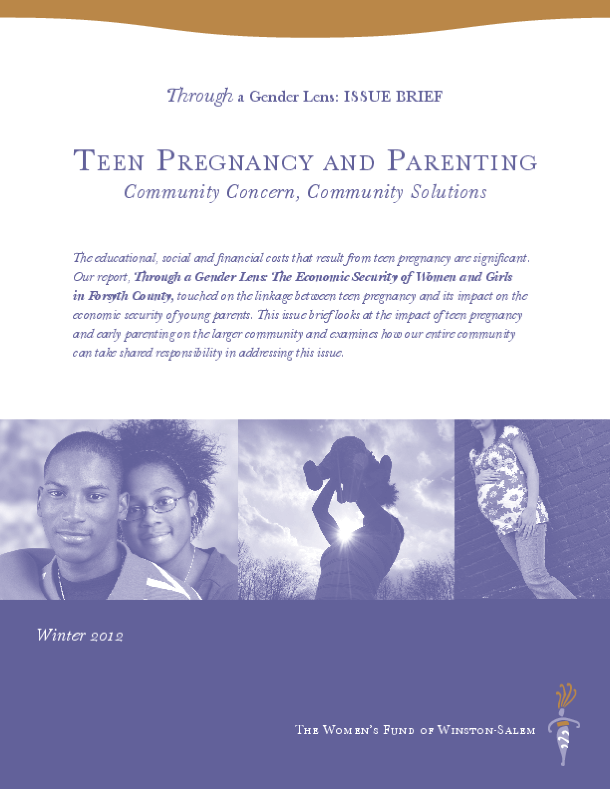 Teen Pregnancy and Parenting:Community Concern, Community Solutions