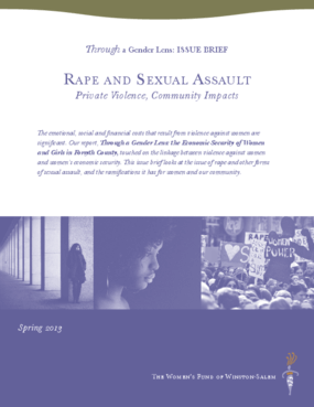 Rape and Sexual Assault: Private Violence, Community Impacts