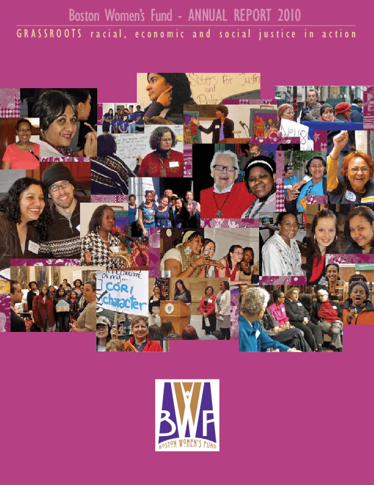 Boston Women's Fund Annual Report FY 2010/11