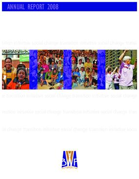 Boston Women's Fund Annual Report 2008