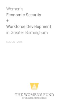 Women's Economic Security and Workforce Development in Greater Birmingham