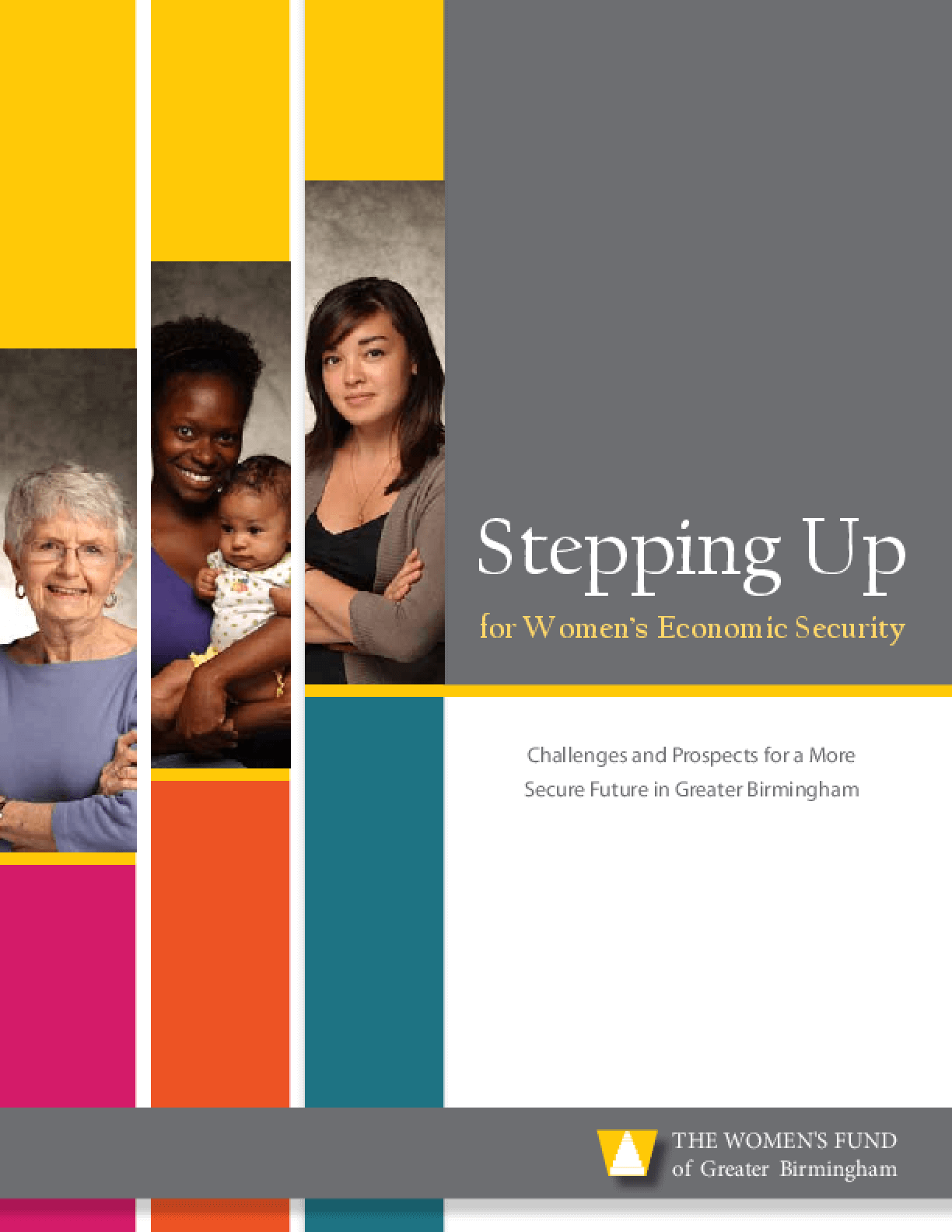 Stepping Up for Women's Economic Security Report