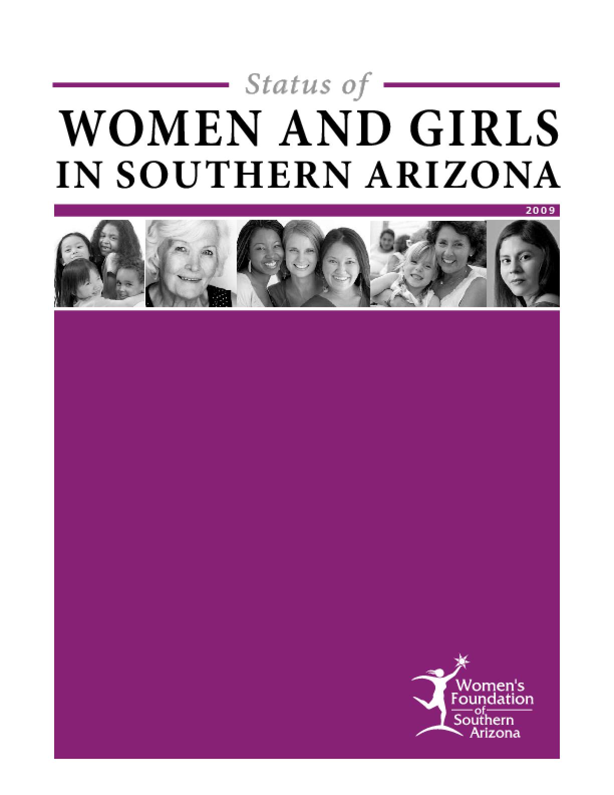 Status of Women and Girls in Southern Arizona 2009