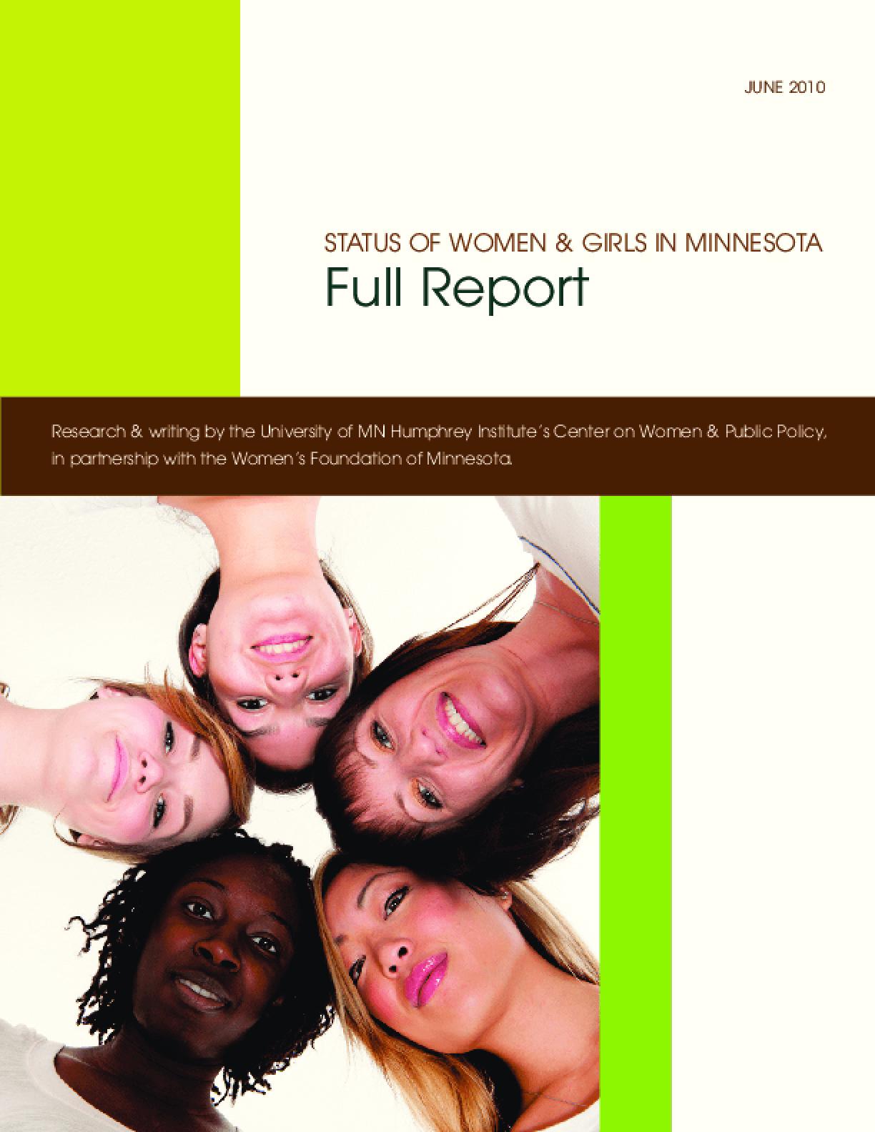 Status of Women & Girls in Minnesota