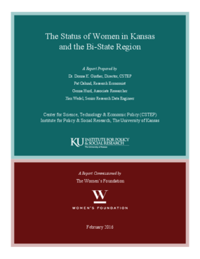 The Status of Women in Kansas and the Bi-State Region