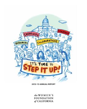 Women's Foundation of California, 2012-13 Annual Report
