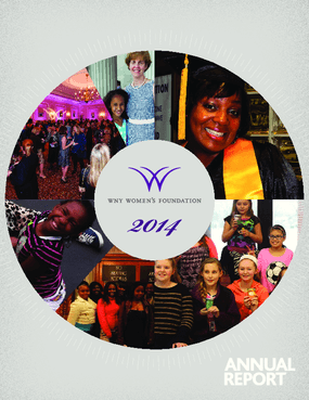 WNY Women's Foundation, 2014 Annual Report