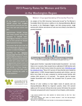 Poverty Fact Sheet