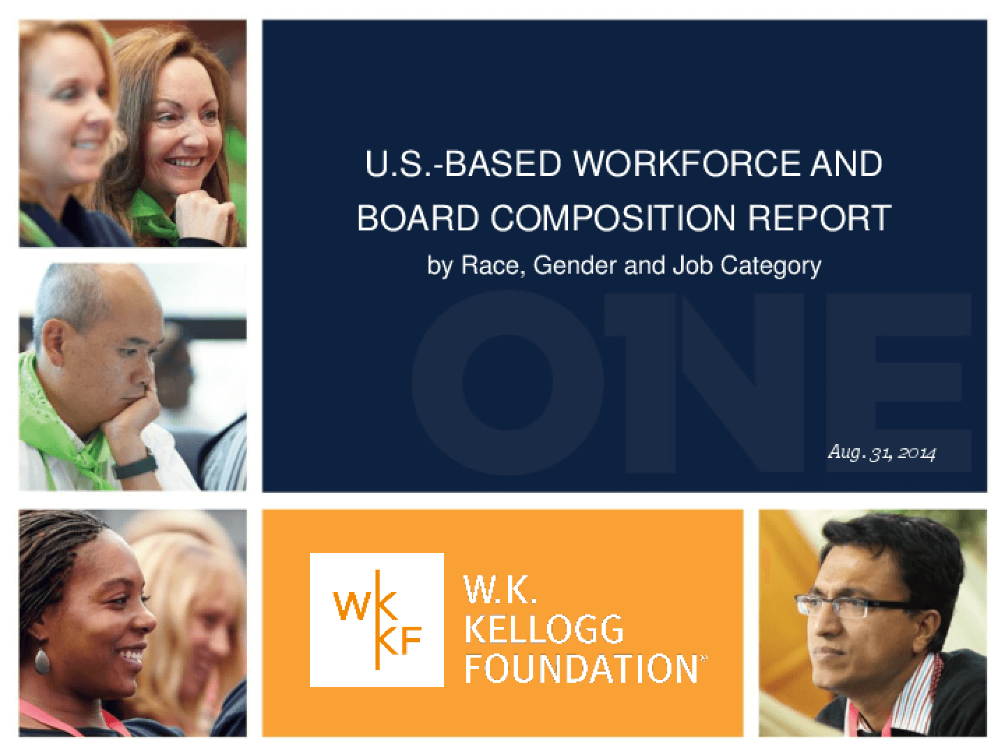 US Based Workforce and Board Composition Report by Race/Ethinicity, Gender and Job Category 2014