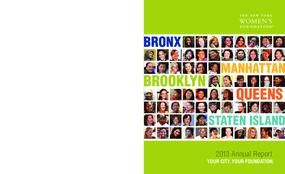 New York Women's Foundation, 2012 Annual Report