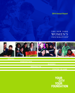 New York Women's Foundation, 2014 Annual report