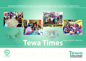 Tewa, Annual Report 2009-2010