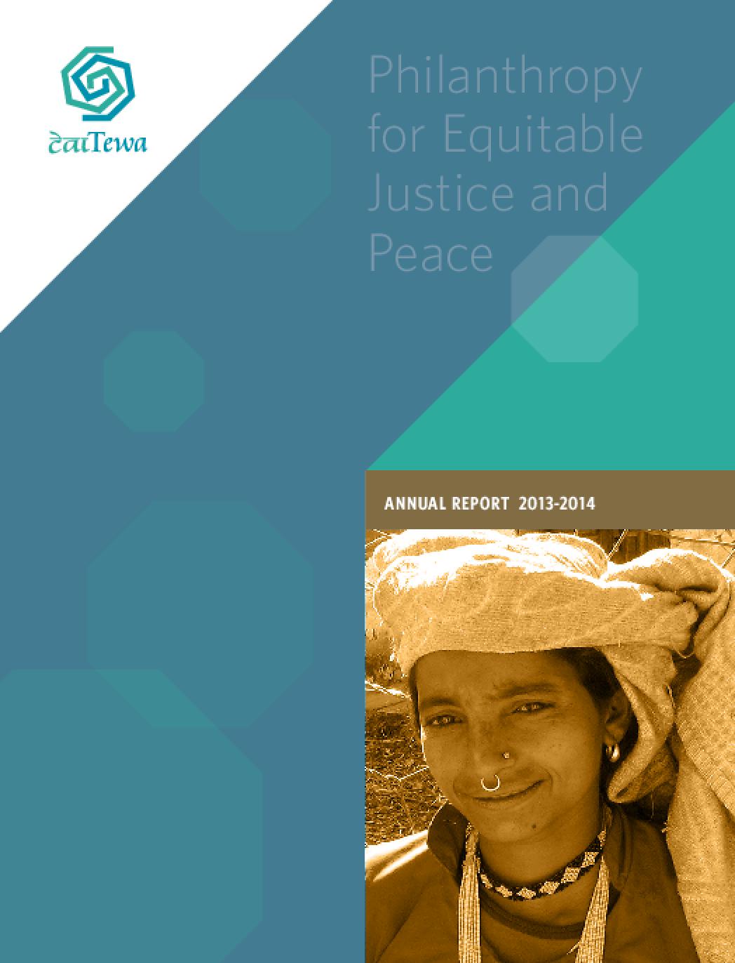 Tewa, Annual Report 2013-2014