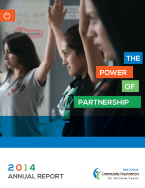 The Power of Partnership: 2014 Annual Report