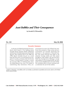 Asset Bubbles and Their Consequences