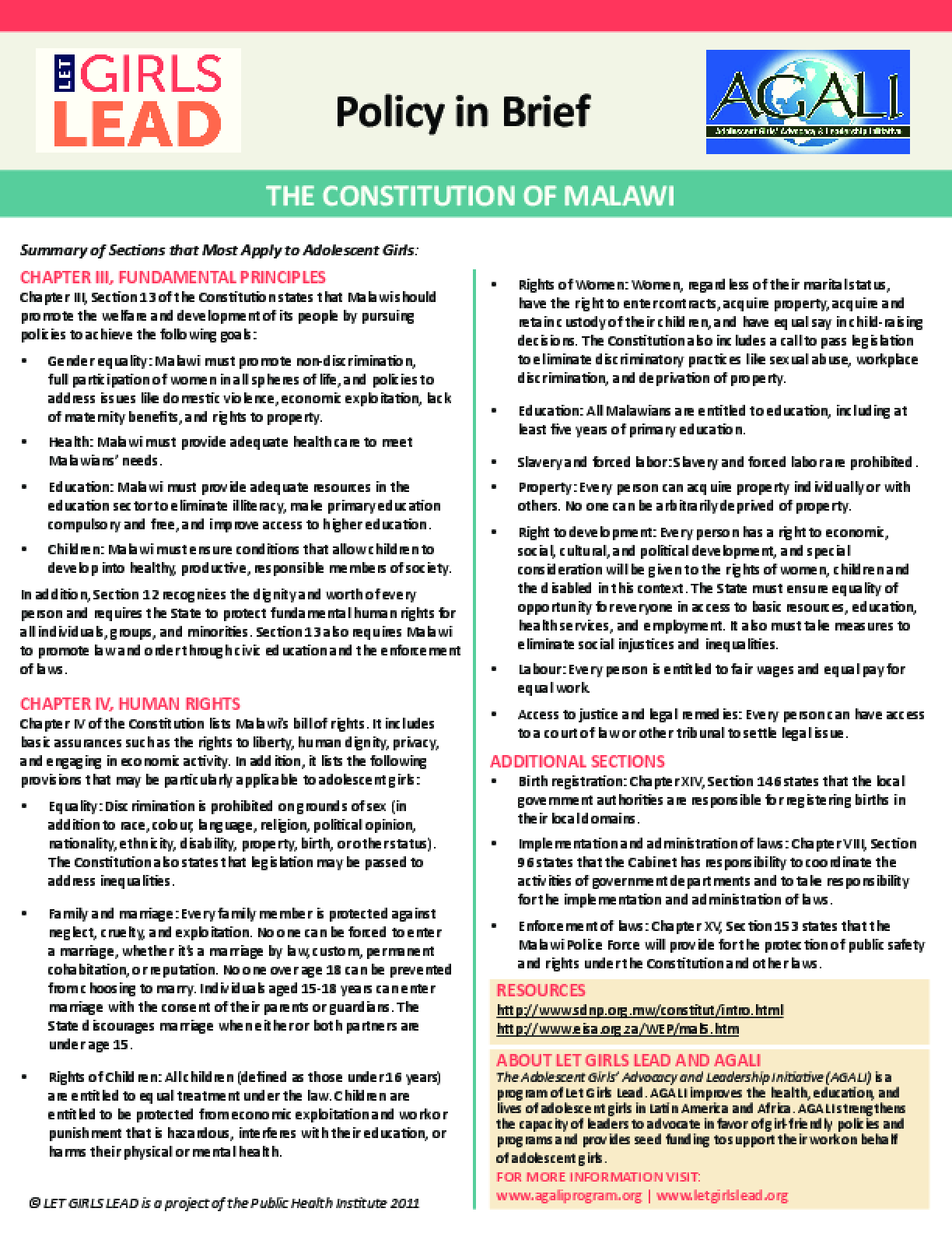 Malawi Constitution