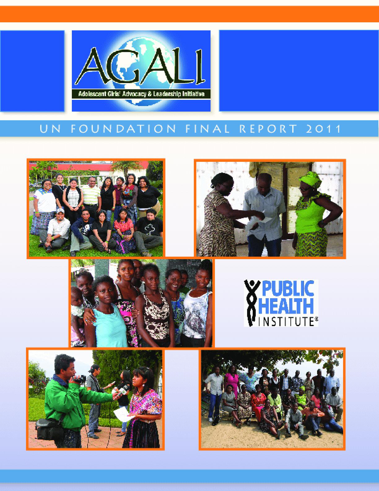 AGALI, 2011 Annual Report