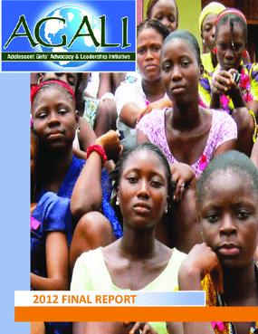 AGALI, 2012 Annual Report