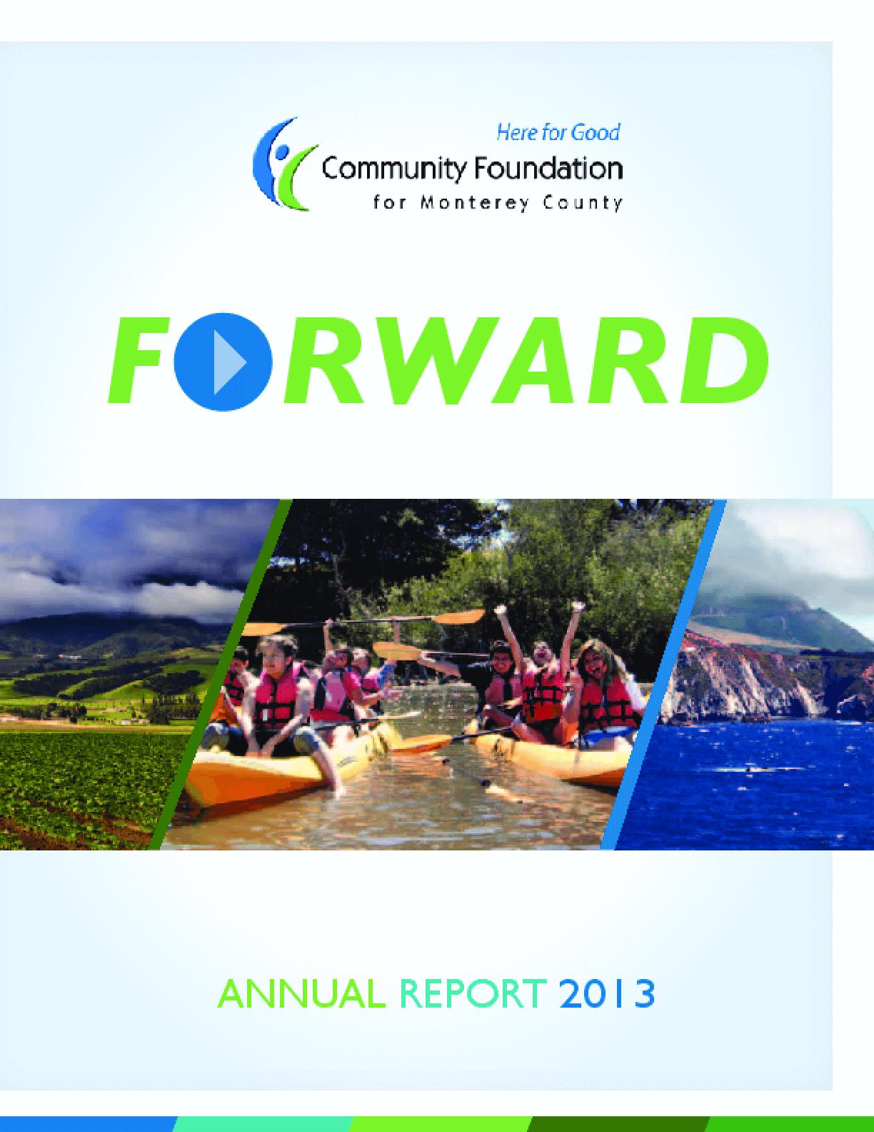 Forward Annual Report 2013