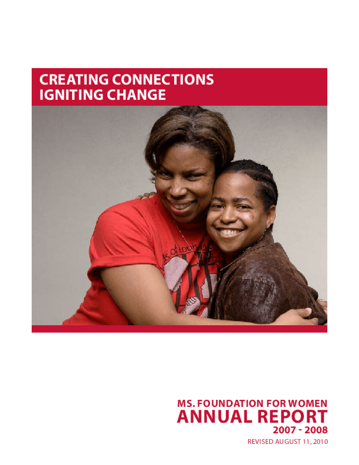Ms. Foundation for Women, 2007-2008 Annual Report