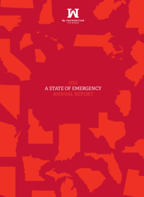 Ms. Foundation for Women, 2012 Annual Report