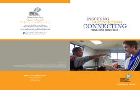 Madison Community Foundation, 2013 Annual Report