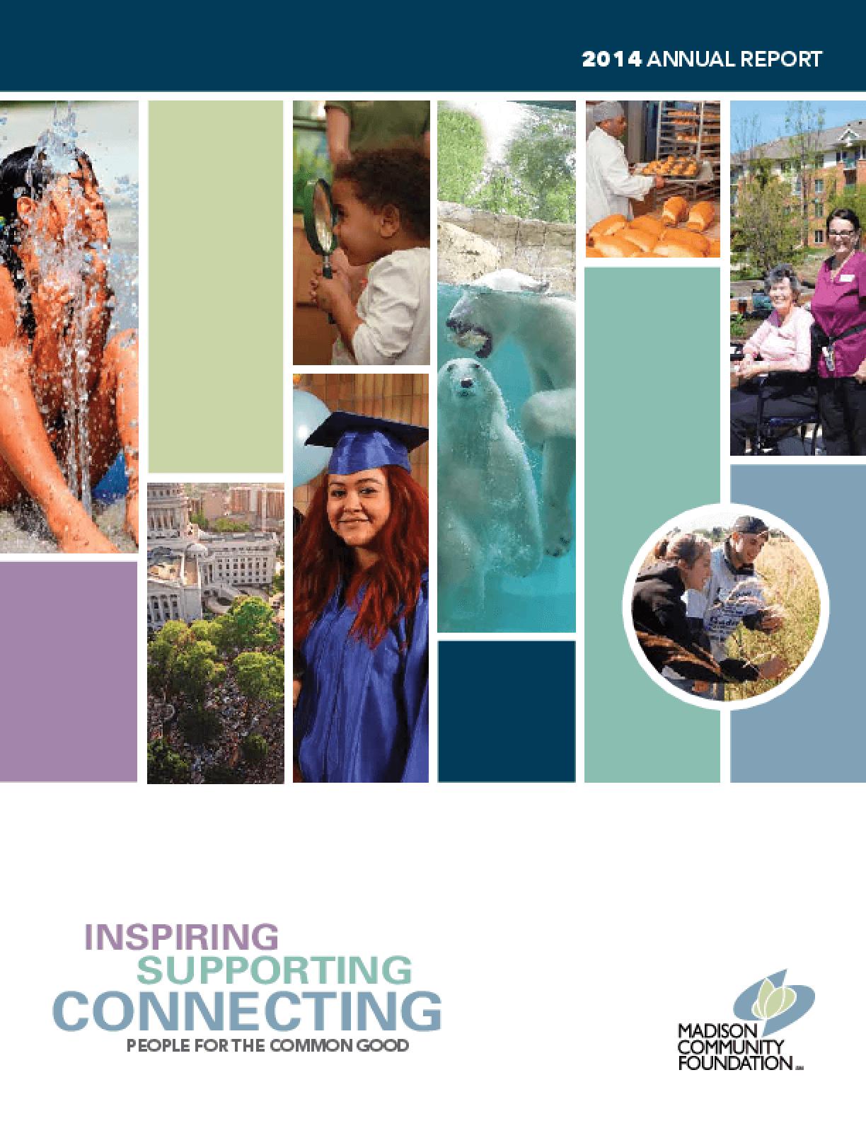 Madison Community Foundation, 2014 Annual Report