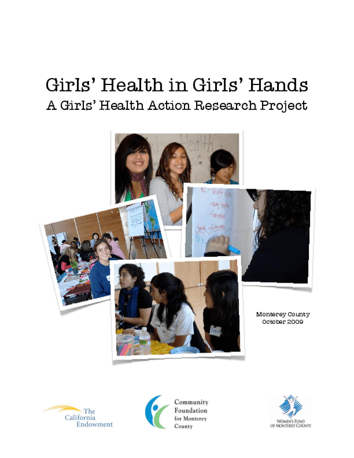 Girls' Health in Girls' Hands Action Plan
