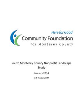 Southern Monterey County Landscape Study