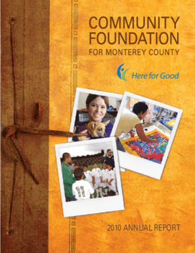 Here for Good: 2010 Annual Report