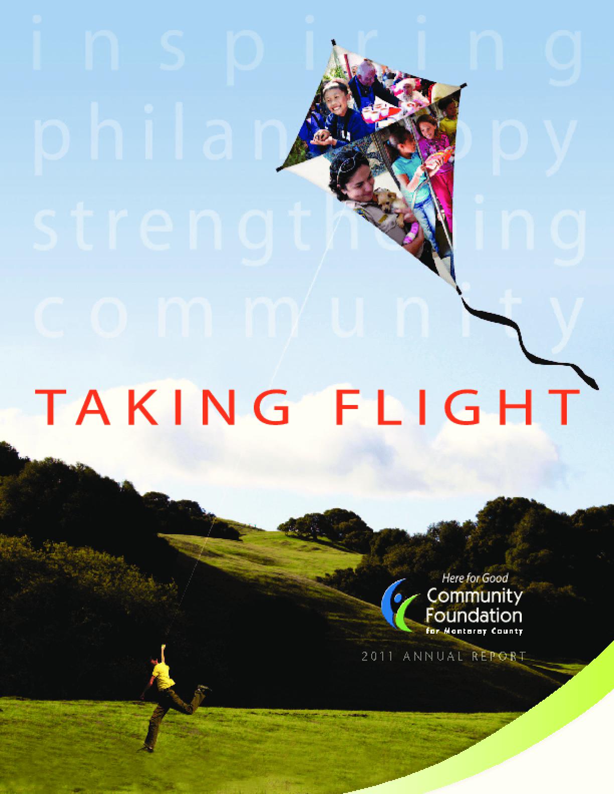Taking Flight: 2011 Annual report