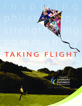 Taking Flight: 2011 Annual report