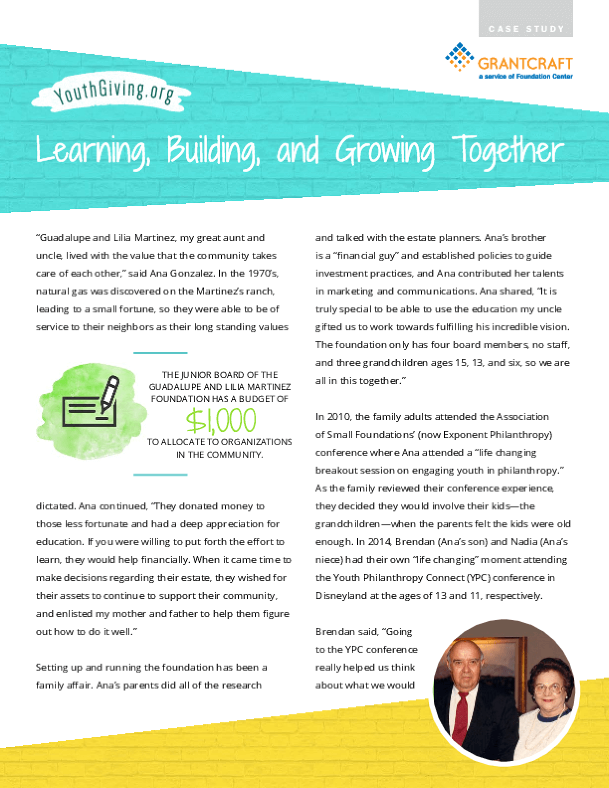Learning, Building, and Growing Together