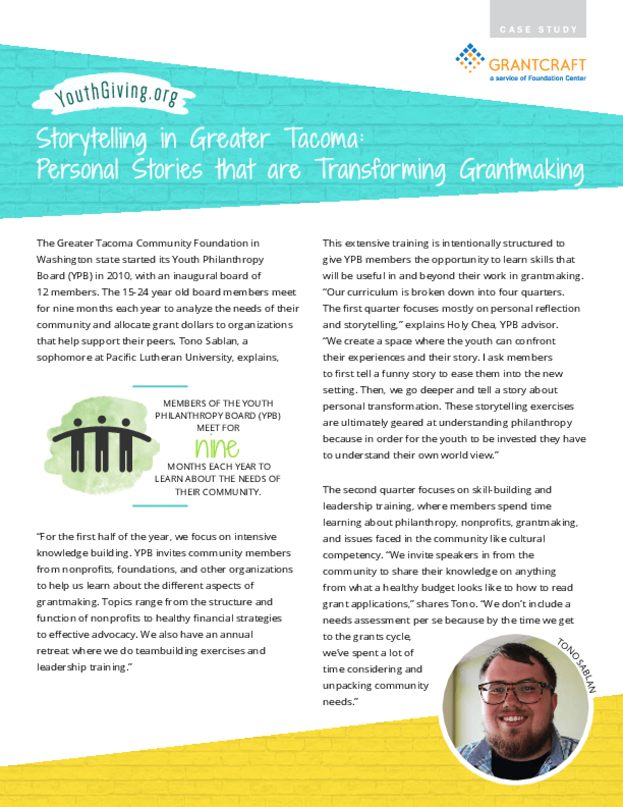 Storytelling in Greater Tacoma: Personal Stories that are Transforming Grantmaking