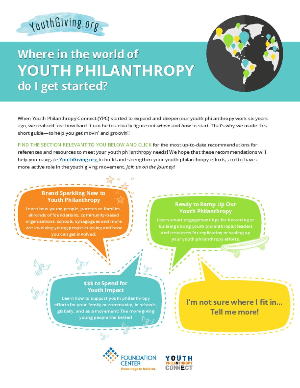 Where in the World of Youth Philanthropy Do I Get Started?