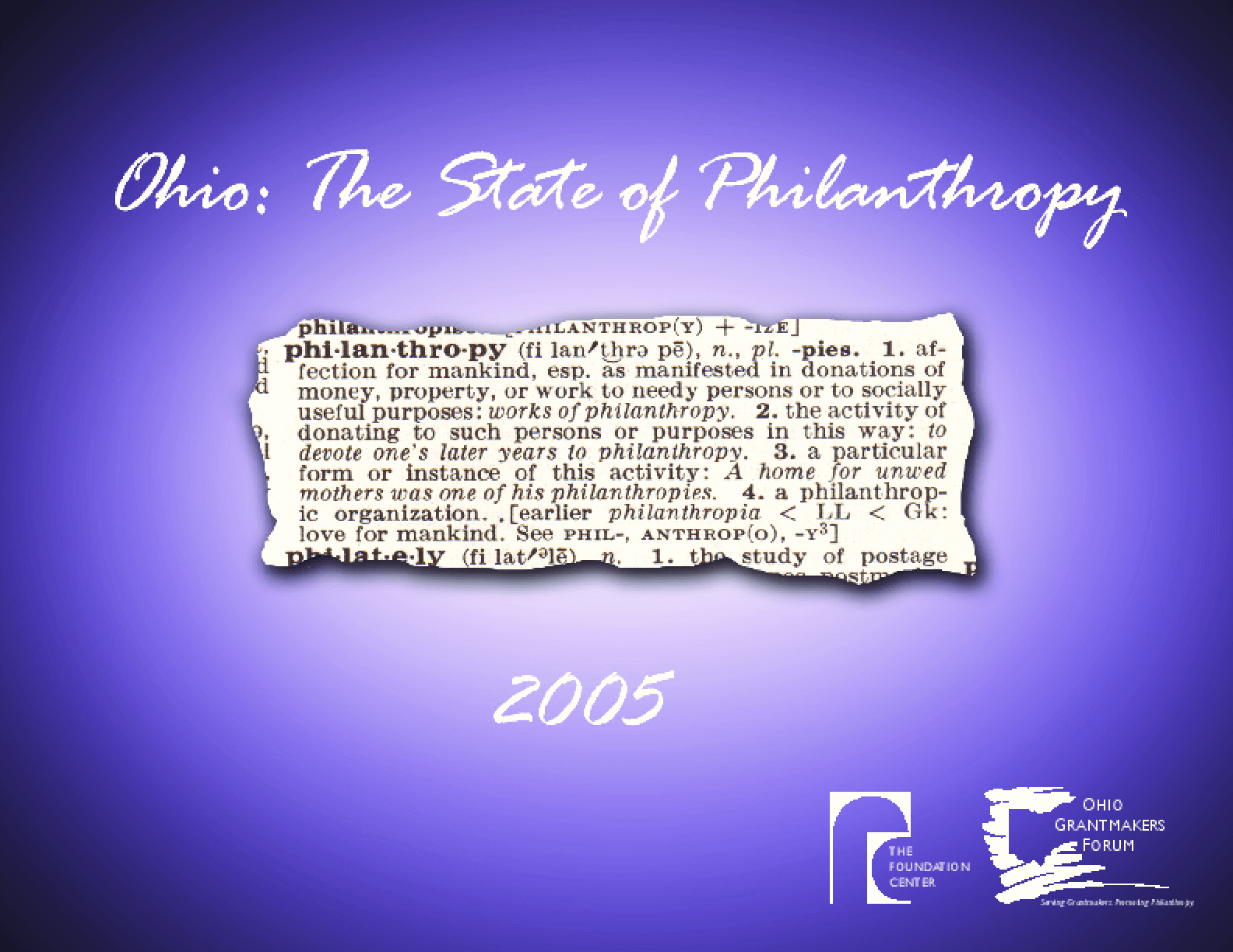 Ohio: The State of Philanthropy