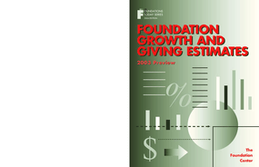 Foundation Growth and Giving Estimates: 2003 Preview