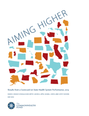 Aiming Higher: Results from a State Scorecard on Health System Performance, 2014