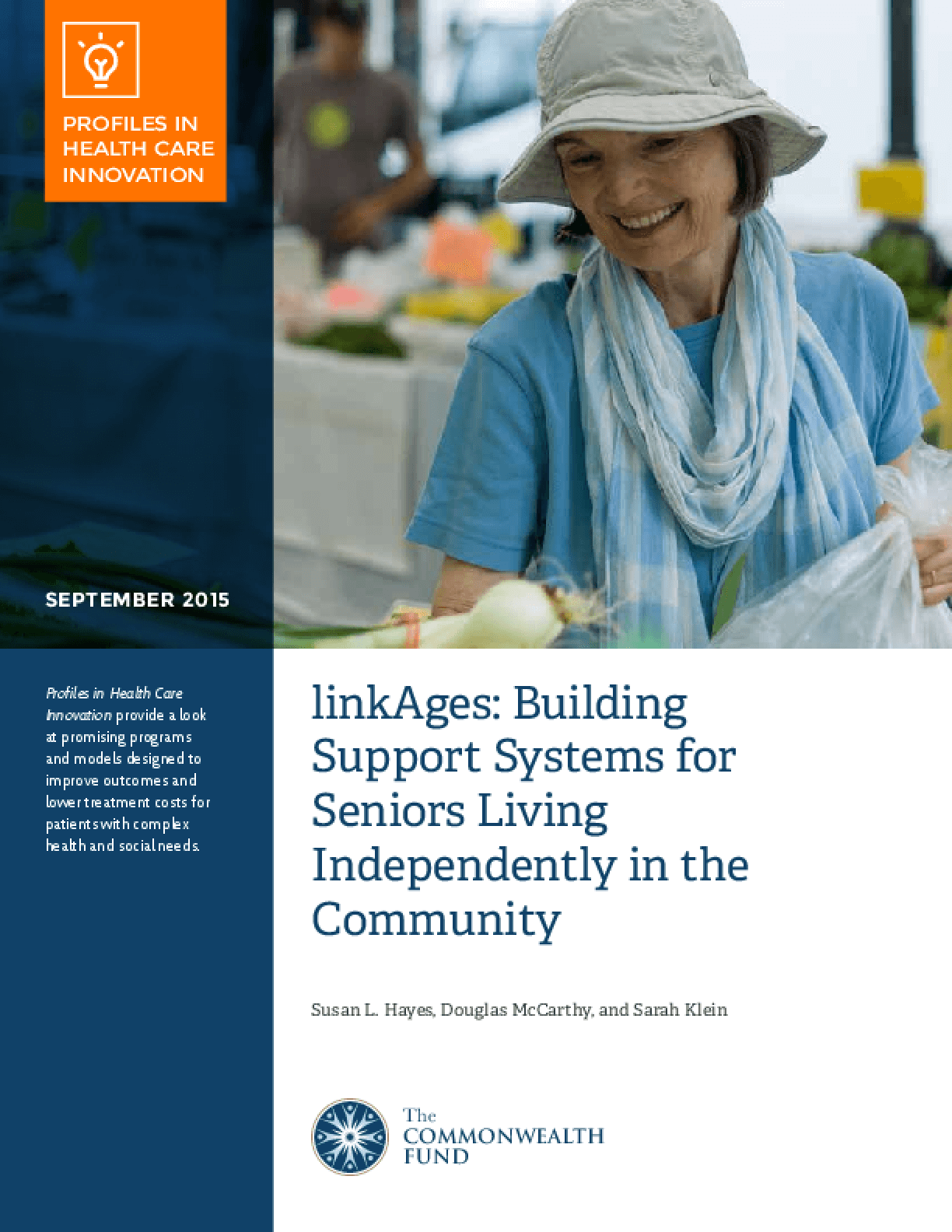linkAges: Building Support Systems for Seniors Living Independently in the Community