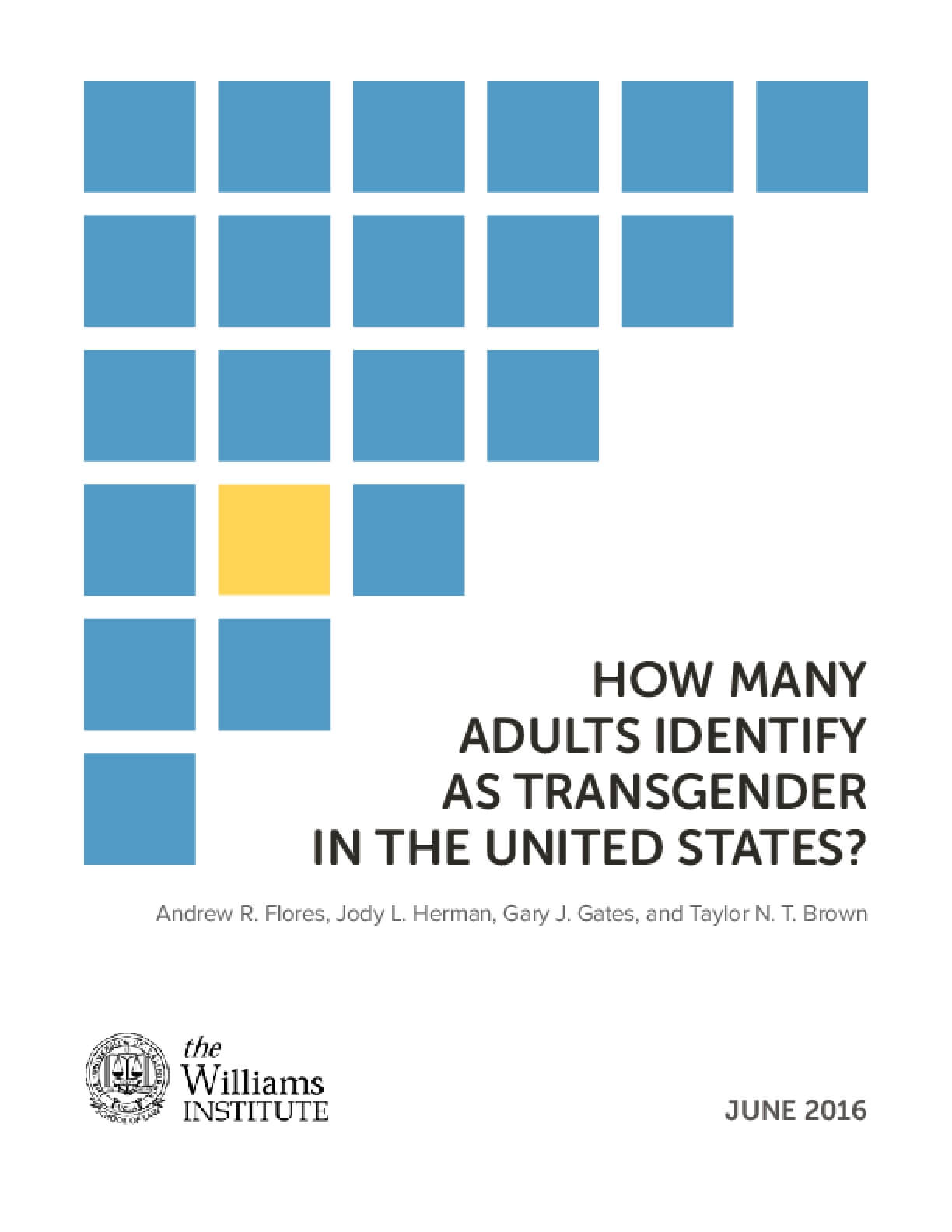 How Many Transgender In United States