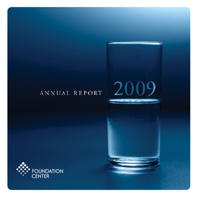The Foundation Center 2009 Annual Report