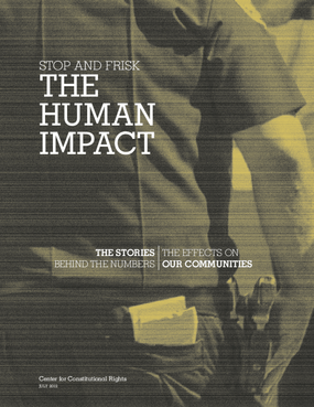 Stop and Frisk: The Human Impact