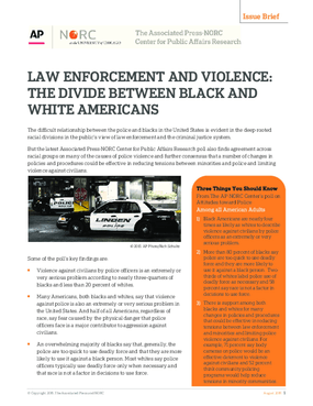 Law Enforcement and Violence: The Divide Between Black and White Americans