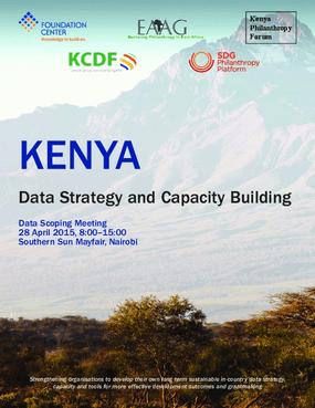 Kenya: Data Strategy and Capacity Building