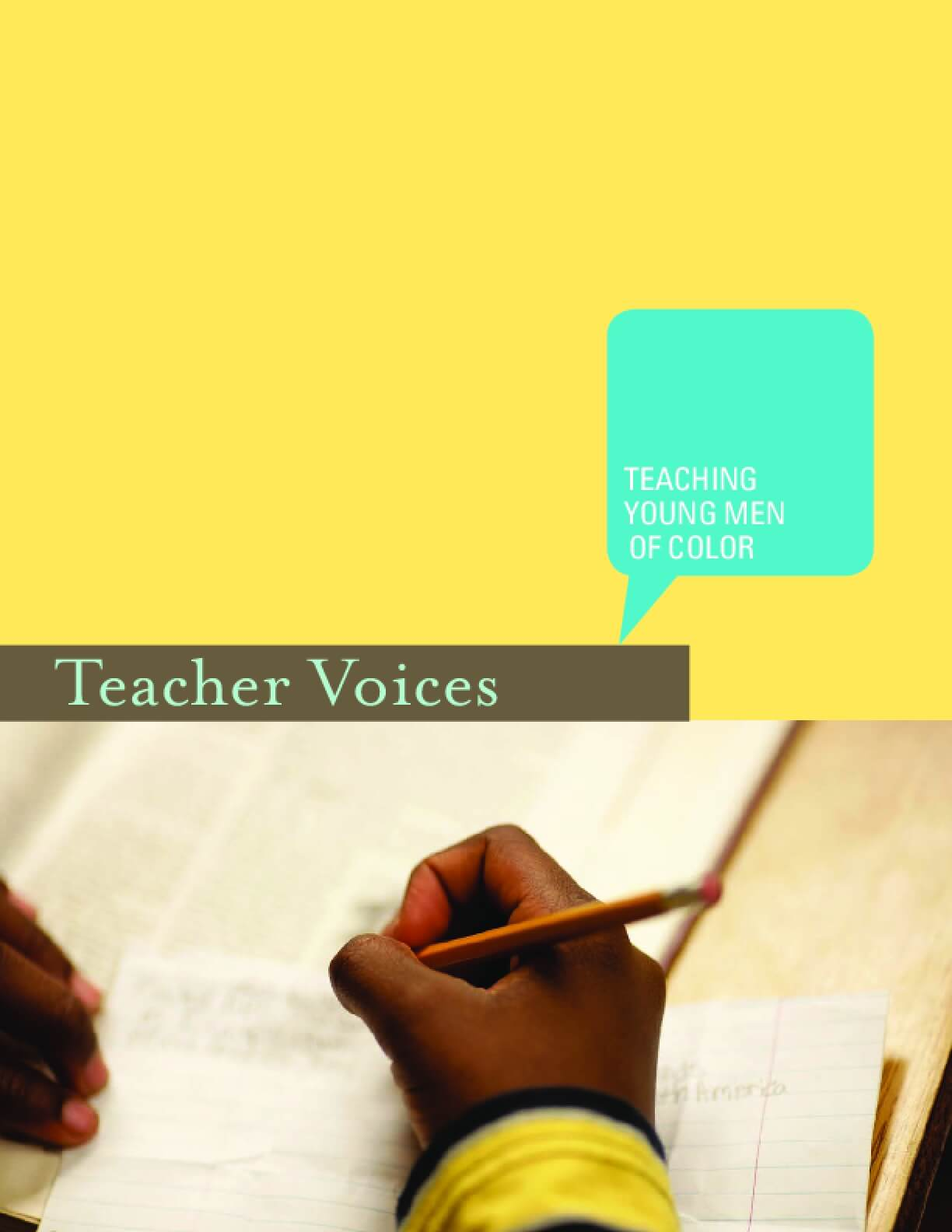 Teacher Voices: Teaching Young Men of Color