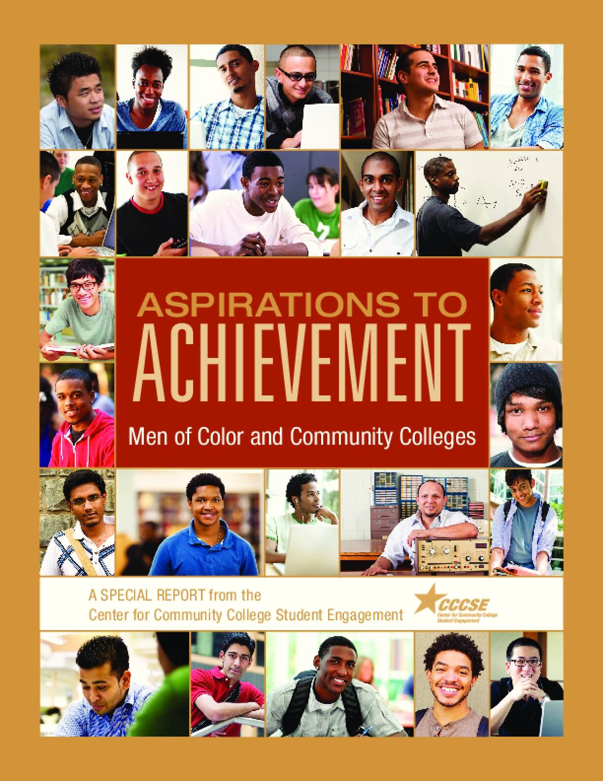 Aspirations to Achievement: Men of Color and Community Colleges