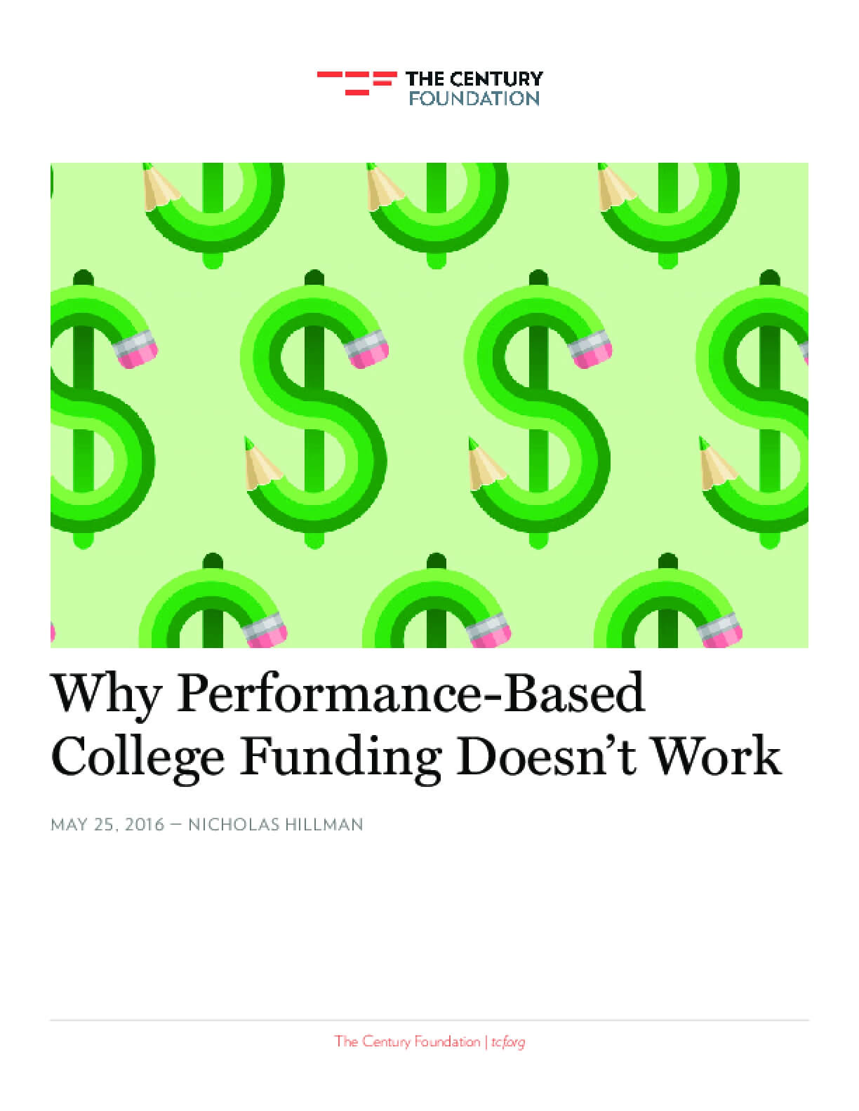 Why Performance-Based College Funding Doesn't Work